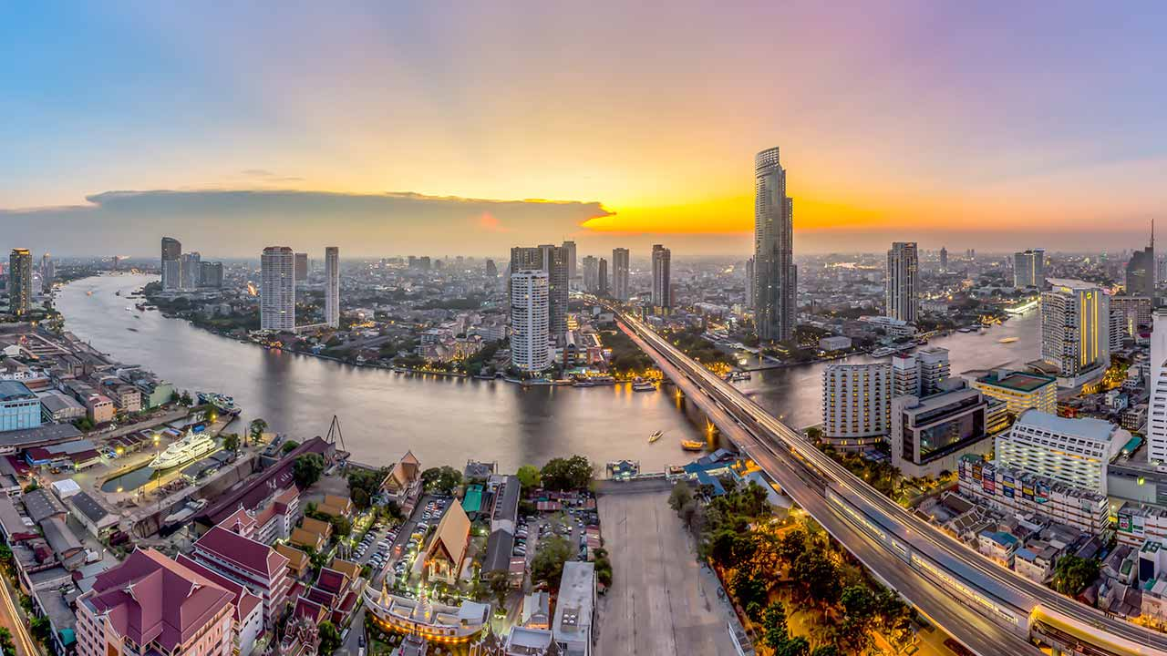 Thai capital Bangkok is known for vibrant street life and the boat-filled Chao Phraya River.