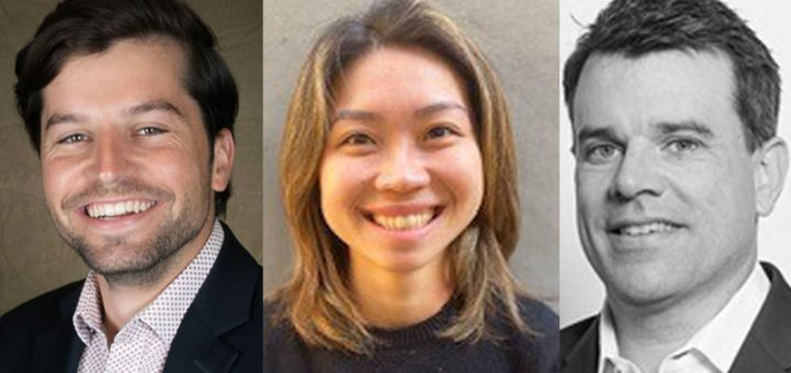 Murray Ackman, Anna Hong and Thomas Ciszewski (l-r) have joined Pendal's Bond, Income and Defensive Strategies team