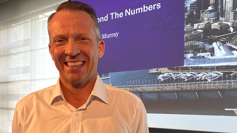 Pendal's Head of Equities Crispin Murray presents his bi-annual Beyond The Numbers event at Establishment in Sydney, March 9, 2021.